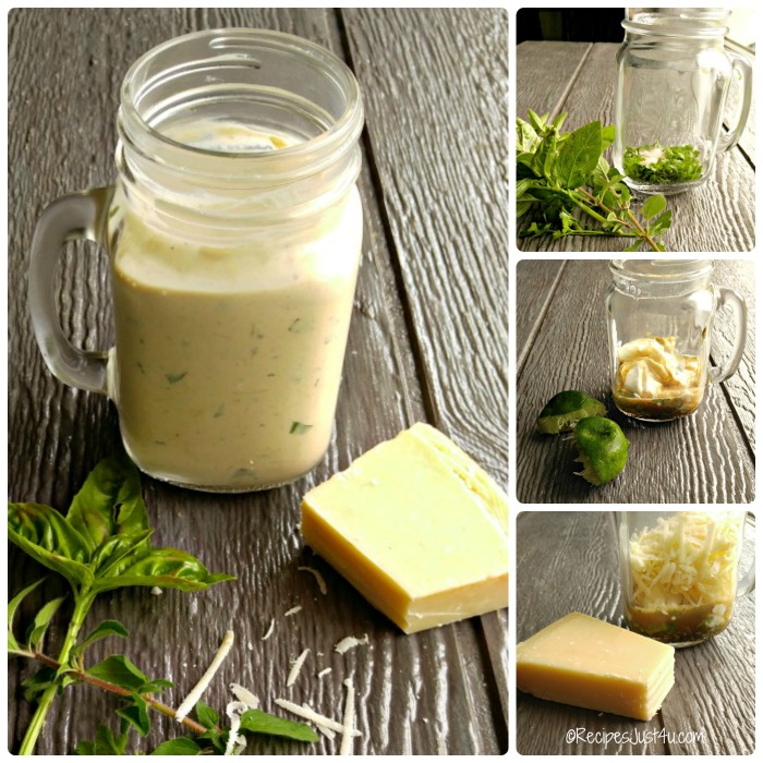How to make Parmesan Herb Dressing