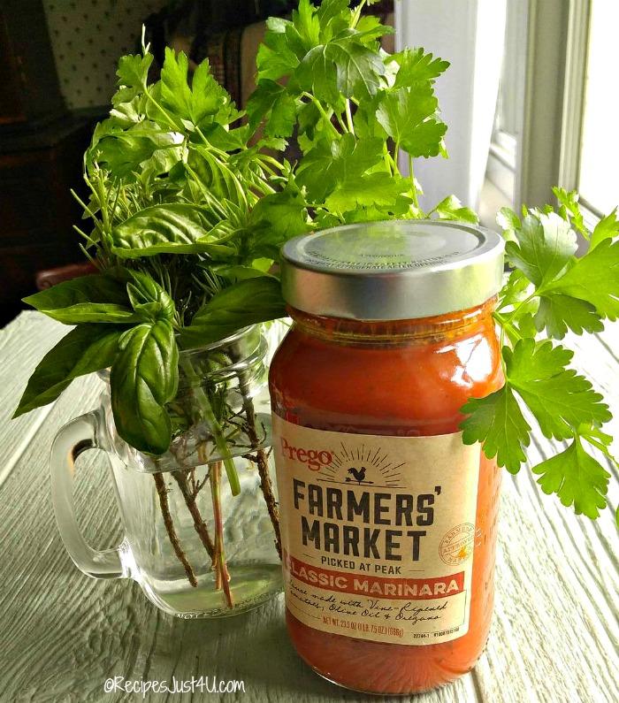 Prego farmer's market sauce