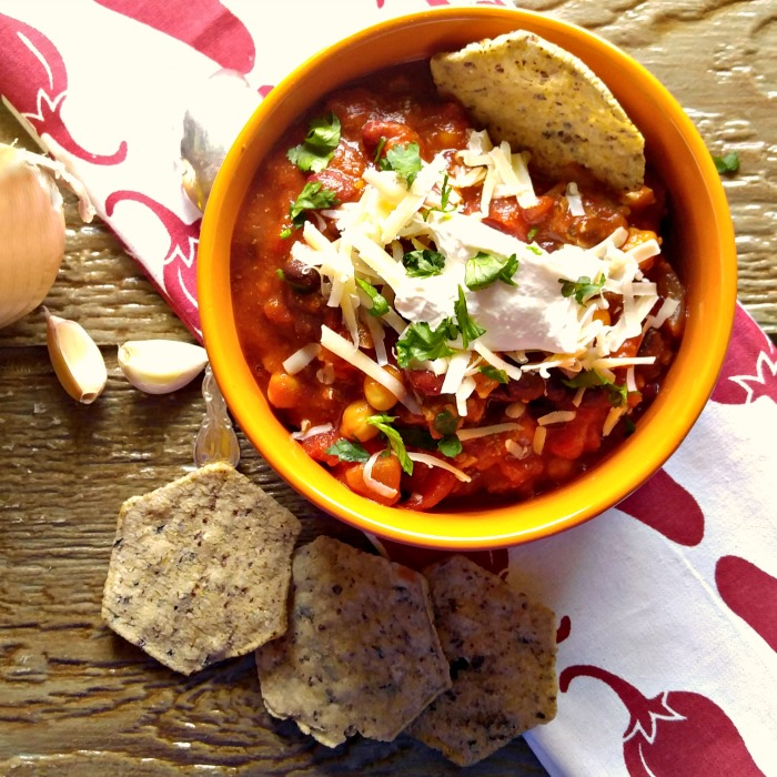 Smokey 3 bean chili is ready in 30 minutes