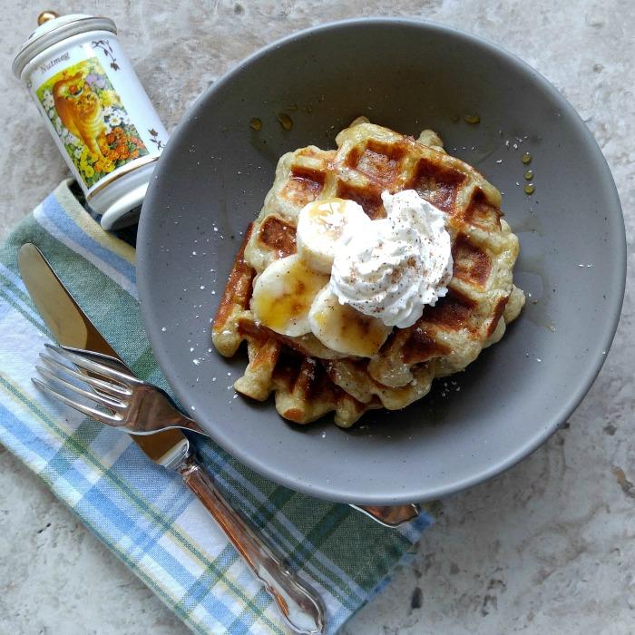 banana-pumpkin-spice-waffles-main - Recipes Just 4U