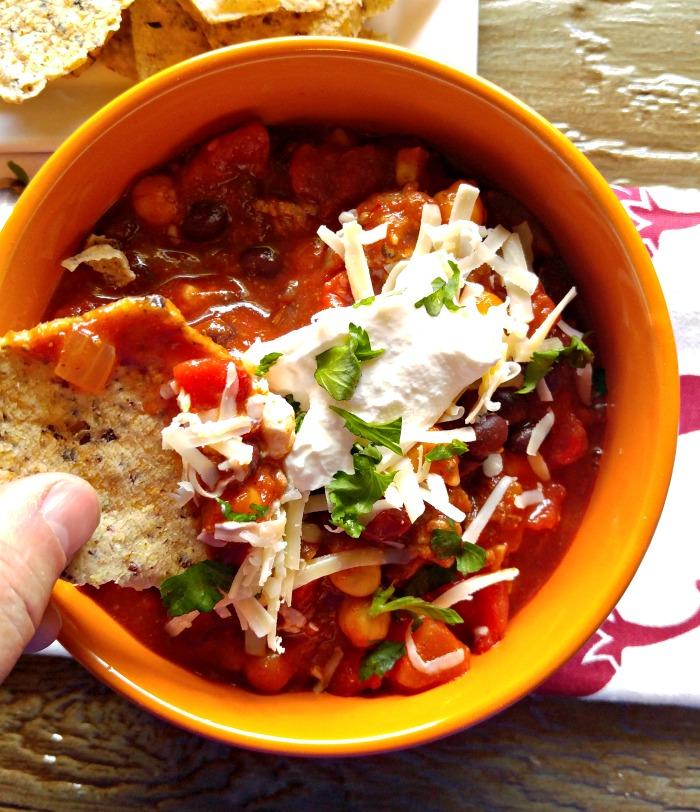 bit of Smokey 3 bean chili
