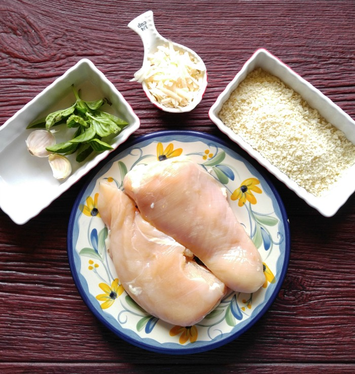 Ingredient for Oven baked Parmesan chicken