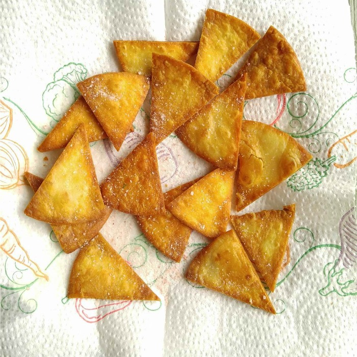 ;home made tortilla chips