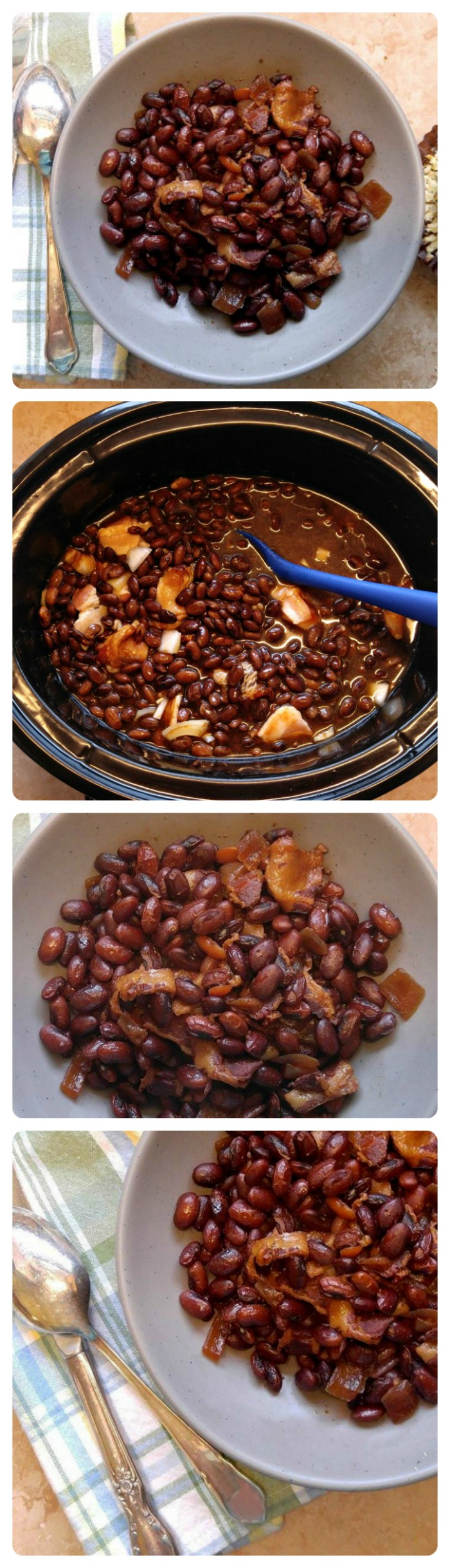 These Slow Cooker Boston Baked Beans are home cooked comfort food at its best