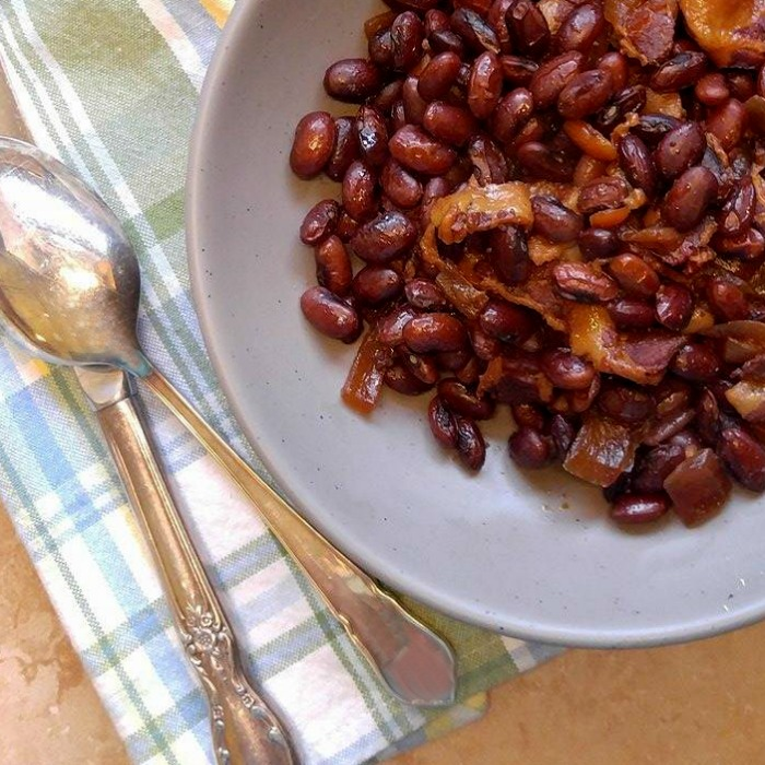 Slow Cooker Boston Baked Beans