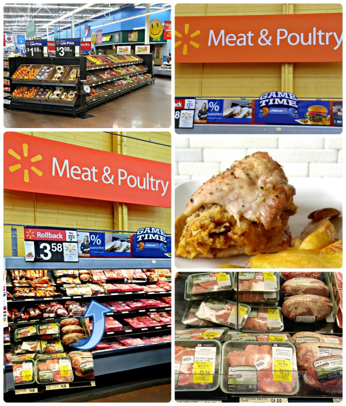 Store collage for the Apple pecan stuffed pork chops
