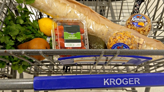 My shopping trip for my crostinis