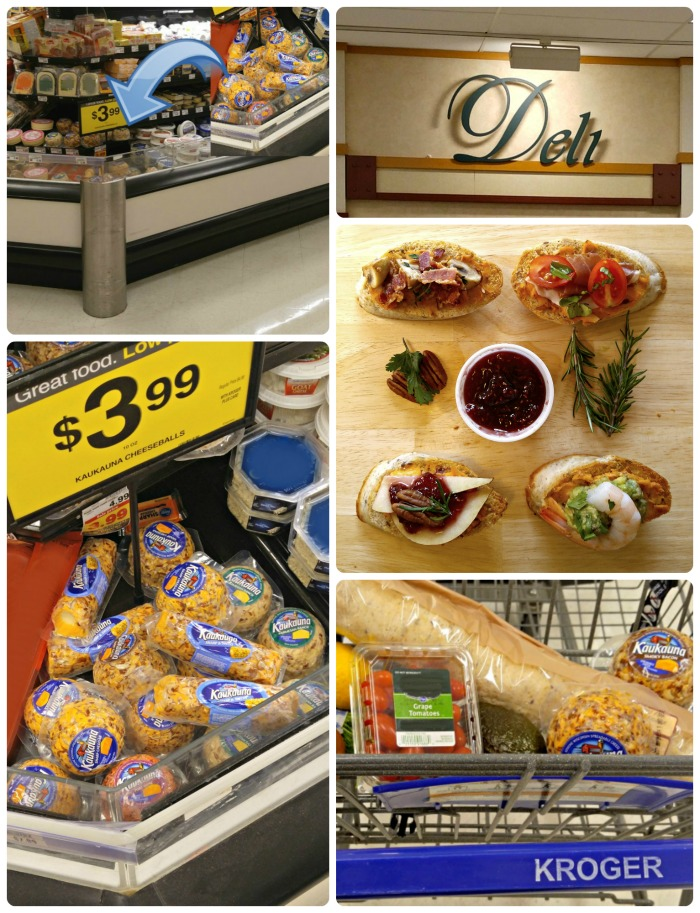Store collage for my Kroger shopping trip.