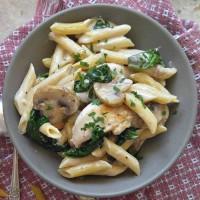 Garlic mushroom chicken