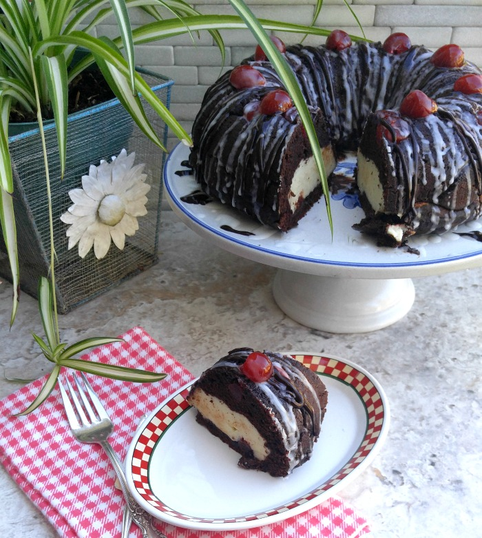 Chocolate Cherry Cheesecake Bundt Cake Recipes Just 4u