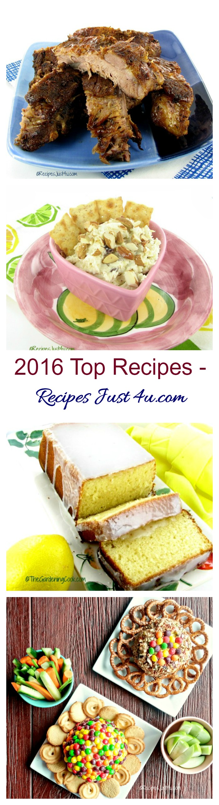 These 2016 Top Recipes posts were the most popular with my readers last year. Perhaps one of them will start the year out right in your kitchen.