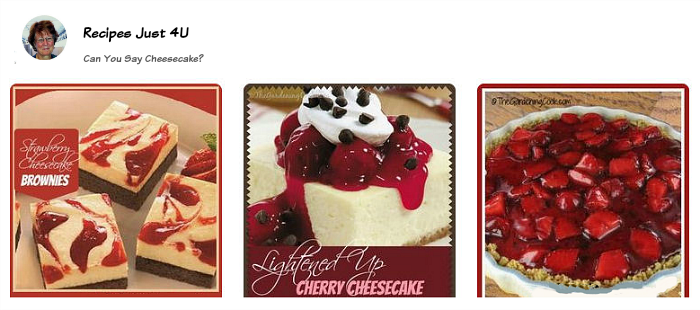 Cheesecake Recipes Board on Pinterest