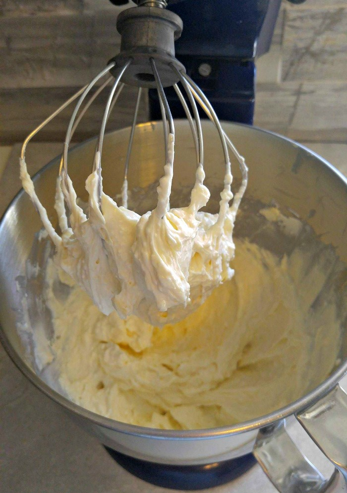 cheesecake egg mixture