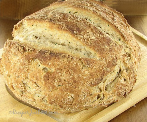 Crusty Italian herbed bread