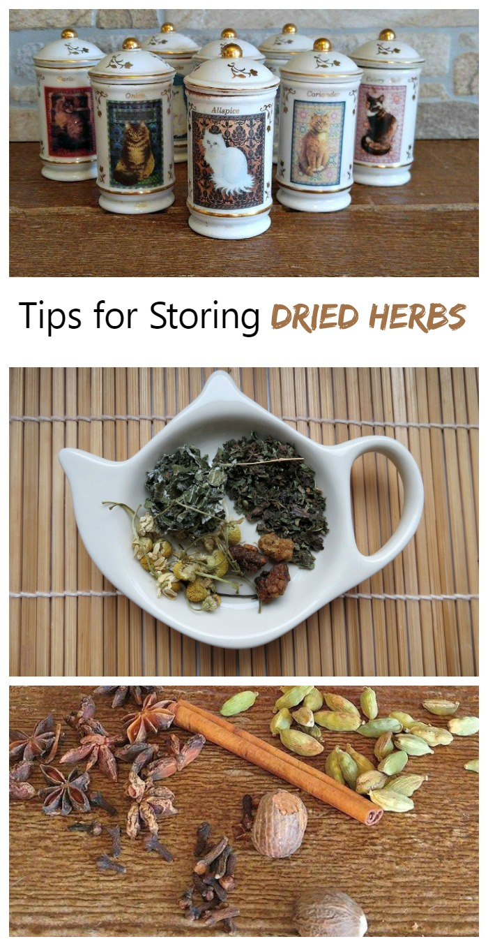 Storing dried herbs to keep them fresh depends on several factors. Heat, light, storage and time all matter. See my tips for keeping your herbs fresh longer.
