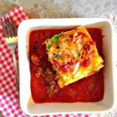 Lasagna roll up
