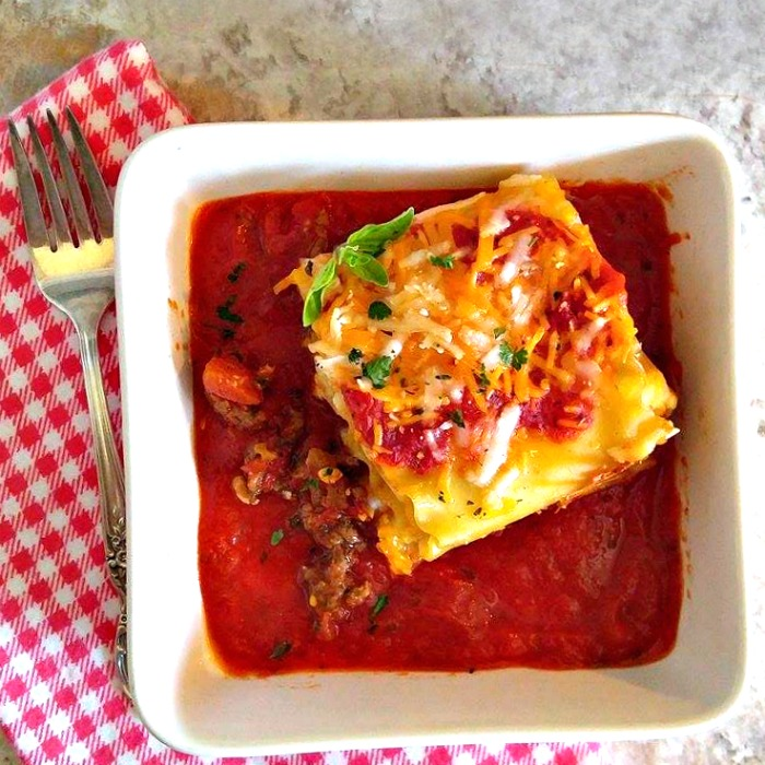 Lasagna Roll Ups - A Variation of the Traditional Casserole Recipe