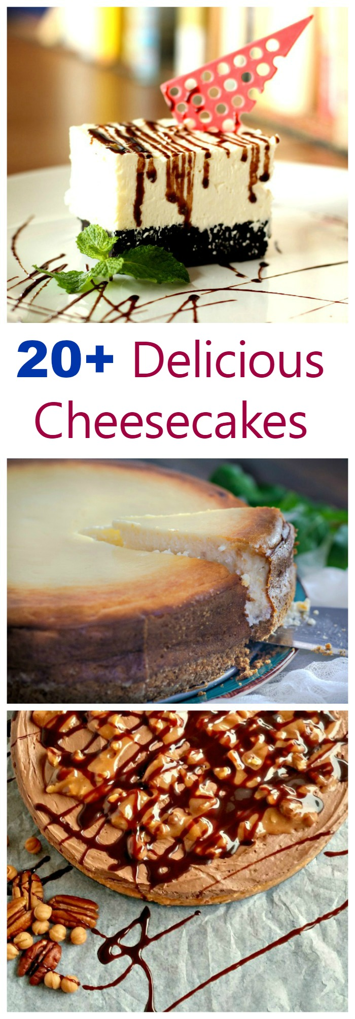 Do you love cheesecakes? So do I. I have a collection of over 20 fabulous cheesecake recipes to tempt you. Everything from bars, to muffins to dips and more are included.