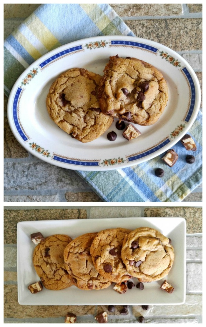 Snickers peanut butter cookies