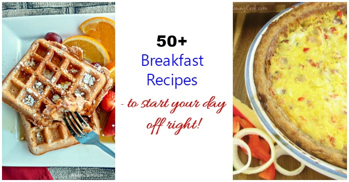50+ breakfast recipes