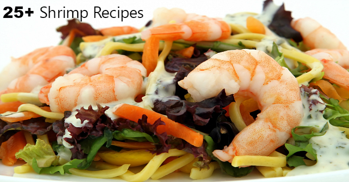 Over 25 Recipes using Shrimp