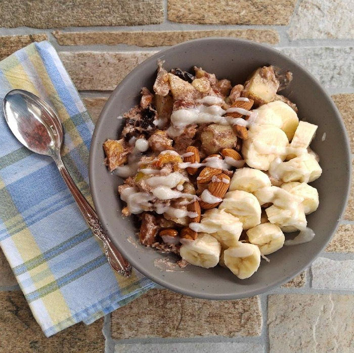 Serve this Whole30 Breakfast Bowl for a filling start to your morning.