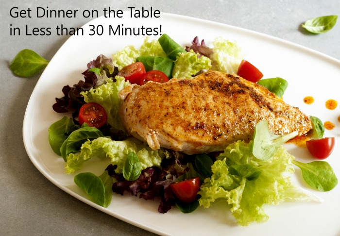 30 Minute Meals Quick Recipes Ready In A Half Hour Or