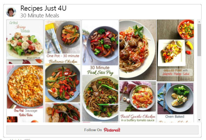 30 Minute Meals on Pinterest