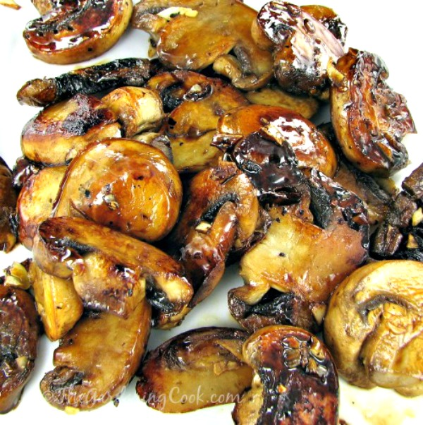Caramelize some mushrooms with garlic