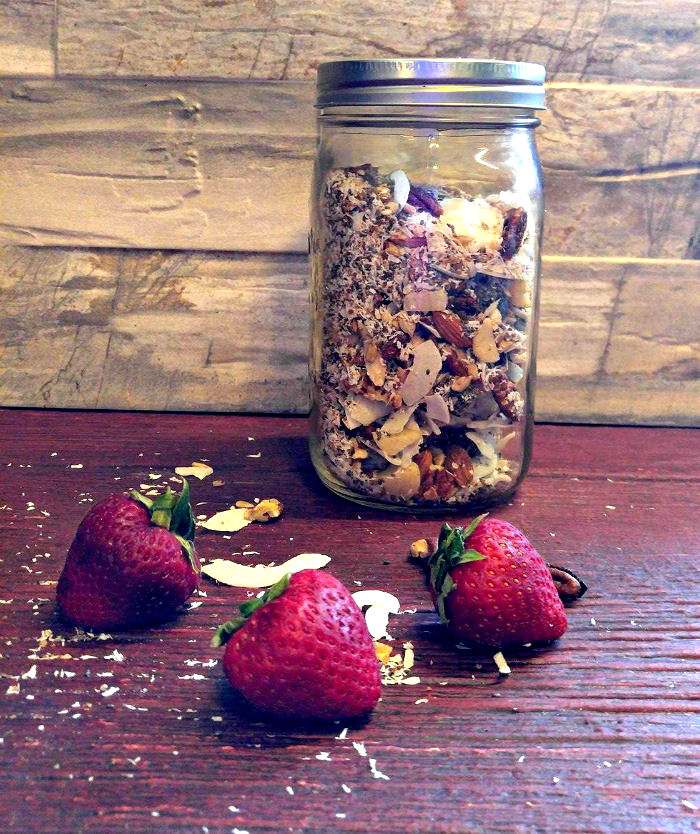 Gluten free muesli keeps for up to a month.