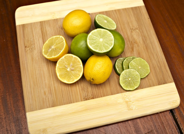 lemons and limes keep sunflower seed butter from turning green