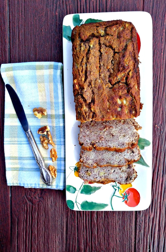 Enjoy this Paleo and gluten free bread. It has no added sugar and tastes great!