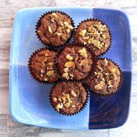Dairy free banana nut muffins