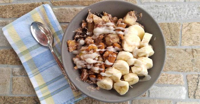 high protein breakfast bowl