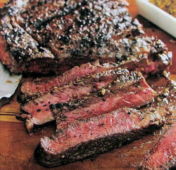 Cuban style grilled steak
