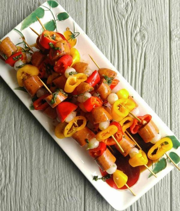 Cajun Style Andouille sausages