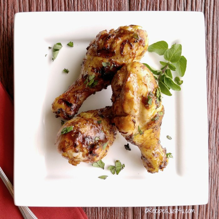 Lemonade grilled chicken legs