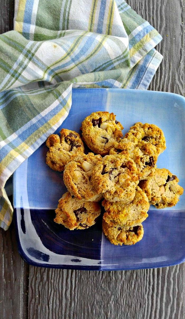 Plate of Paleo cookies