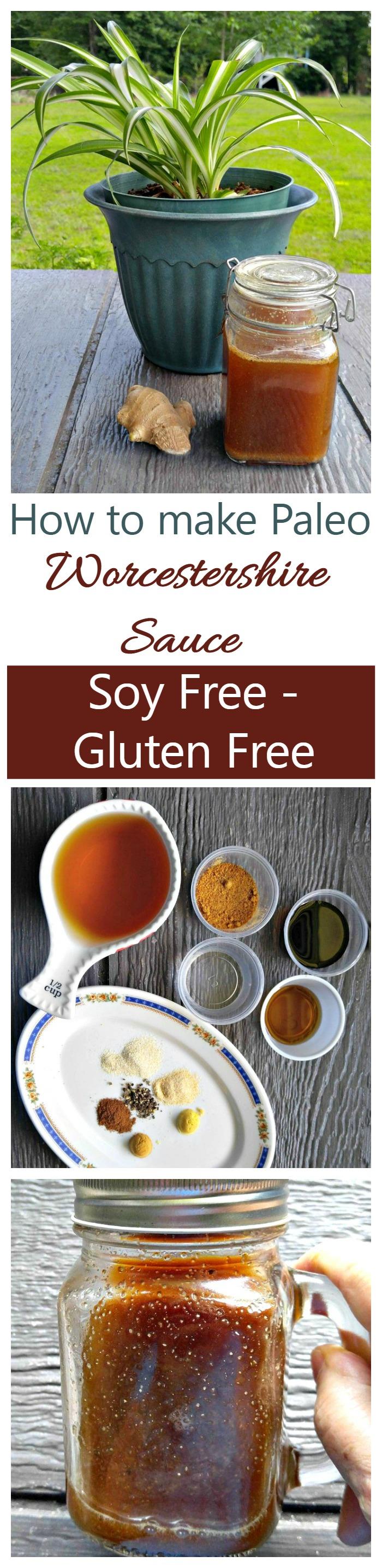 This Paleo Worcestershire Sauce is easy to make and is both soy free and gluten free. It's ready in less than five minutes and tastes great too.