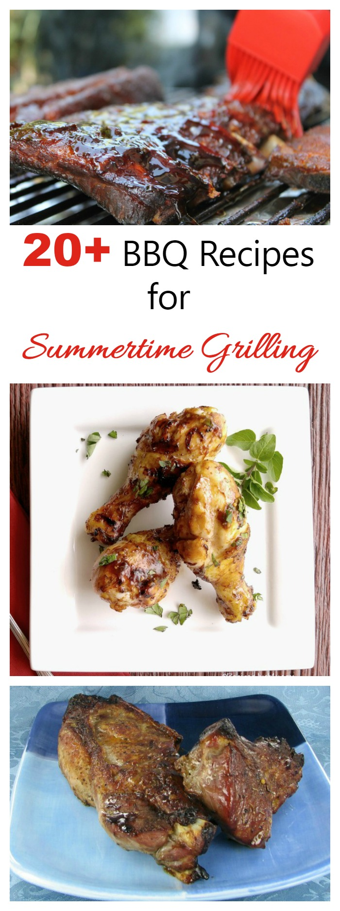 Fire up the grill! It's time for some Summer BBQ recipes