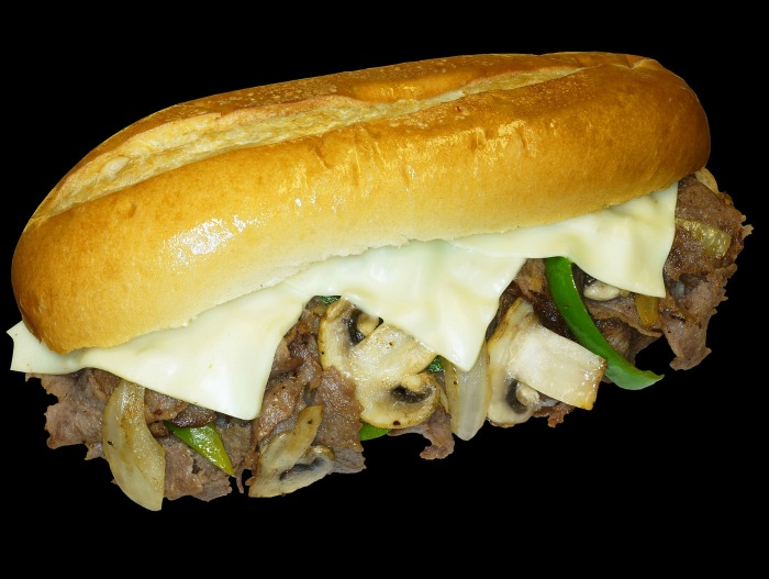Philly Cheese steak with sweet onions