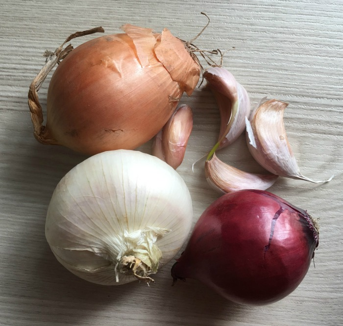 Onions and garlic can both be caramelized