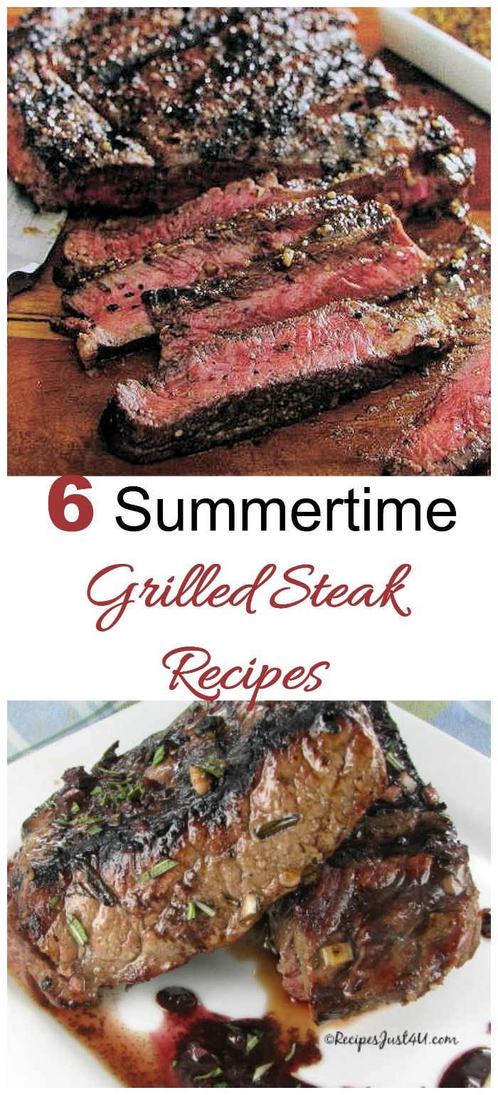 These size summertime steak grilling recipes will get your BBQ off to a great start.