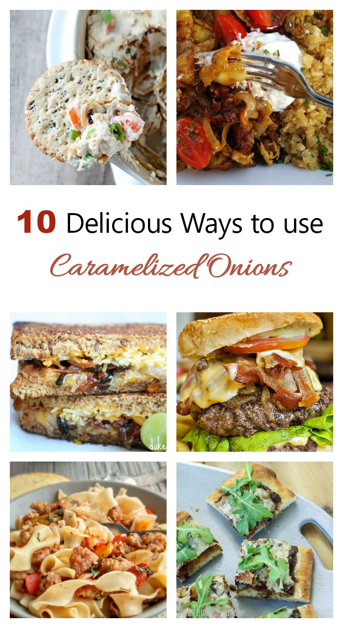 Ways to use caramelized onions