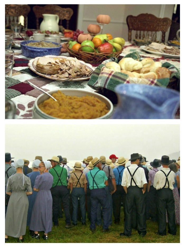 Find out about Amish Food and Traditions