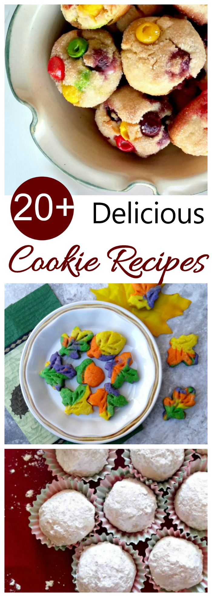 October 1 is homemade cookie day and the start of the holiday baking season. These 20+ cookie recipes are the perfect way to celebrate #nationalcookieday #homemadecookies