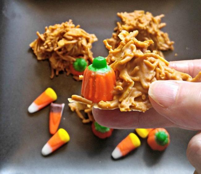 pumpkin haystack cookies