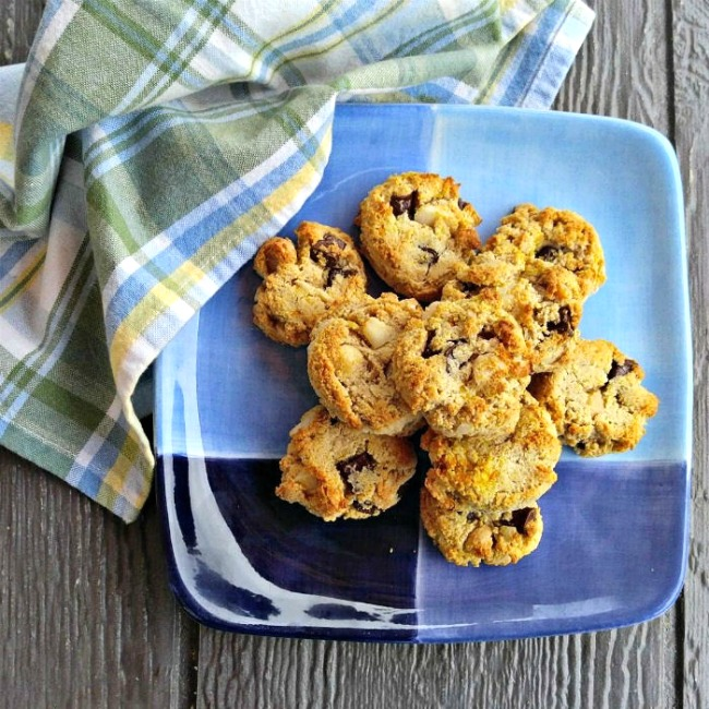 Orange Dark Chocolate cookies
