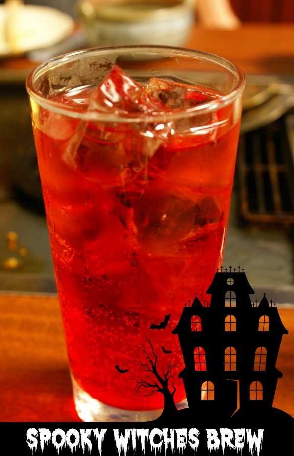 Wtiches Brew Halloween cocktail