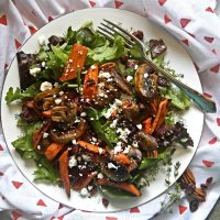 Roast carrot salad